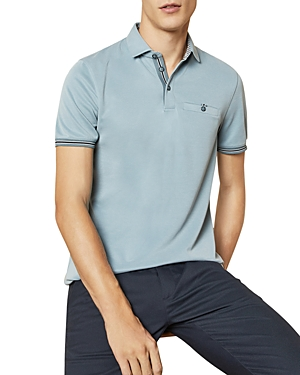 Ted Baker T-shirts EARBUS COLOR-TIPPED POLO SHIRT