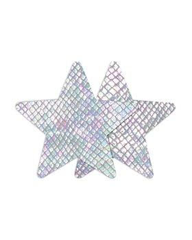 B-SIX - Nippies White Snake Star Pasties