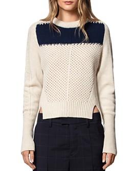 Zadig & Voltaire - Rozenn Wool & Cashmere Sweater