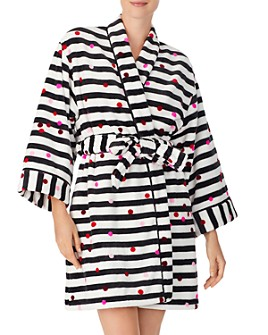 kate spade new york - Dot Stripe Robe
