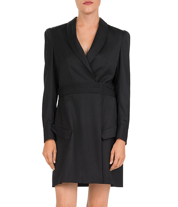 The Kooples Dresses SHAWL COLLAR WOOL WRAP DRESS