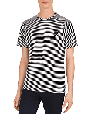The Kooples Striped Patch Tee