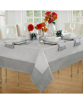"""Villeroy & Boch - New Wave Tablecloth, 90"""" Round"""