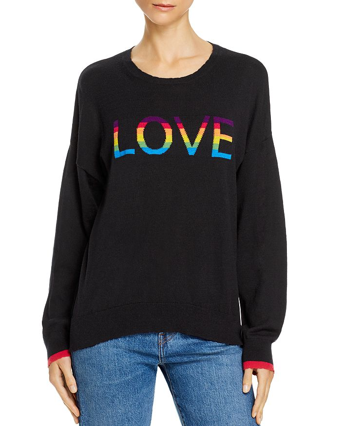 Sundry - Rainbow Love Sweater - 100% Exclusive