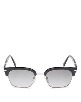 Persol - Men's Clubmaster Polarized Square Sunglasses, 53mm