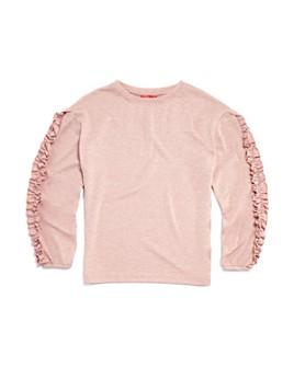 AQUA - Girls' Ruffle-Sleeve Sweater, Big Kid - 100% Exclusive
