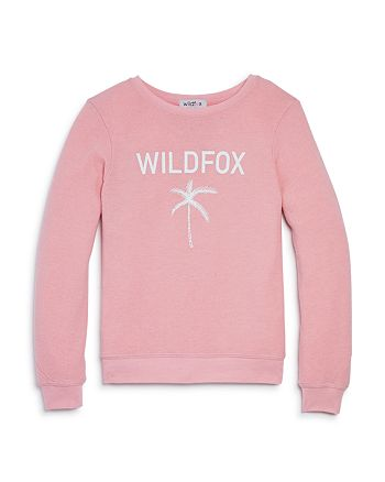 WILDFOX - Girls' Palm Tree Sweatshirt - Big Kid