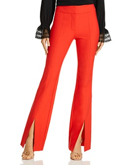 Derek Lam 10 Crosby - Maeve Slit-Hem Flared Pants