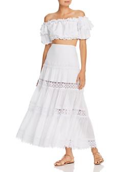 Charo Ruiz Ibiza - Cropped Top & Tiered Skirt