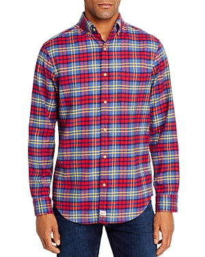 Vineyard Vines Offshore Flannel Classic Fit Button-Down Shirt-Men