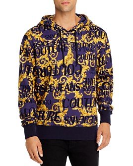 Versace Jeans Couture - Logo Hooded Sweatshirt