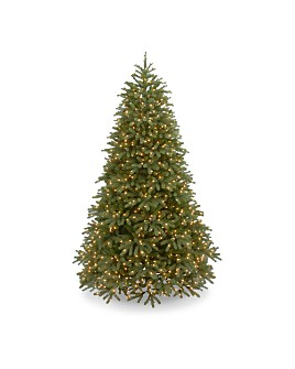 National Tree Company - 7.5 ft. Jersey Fraser Fir Medium with Dual Color® LED Lights & PowerConnect™