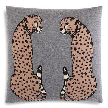 """AQUA - Cheetah Decorative Pillow, 20"""" x 20"""" - 100% Exclusive"""
