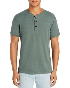 rag & bone - Standard Issue Heathered Henley Tee