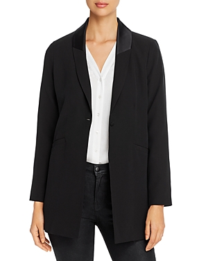 Eileen Fisher Blazers SILK SHAWL-COLLAR BLAZER
