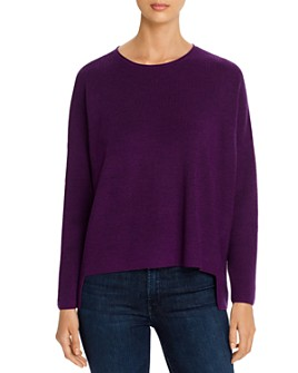 Eileen Fisher Petites - Merino Wool High/Low Sweater