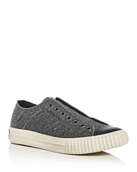 John Varvatos Bootleg - Men's Tweed Slip-On Sneakers