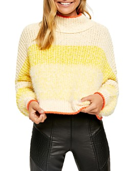 Free People - Sunbrite Cropped Sweater