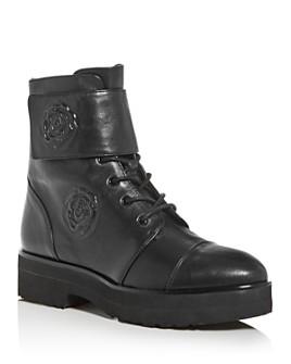 Taryn Rose - Valentia Weatherproof Cap-Toe Platform Combat Boots