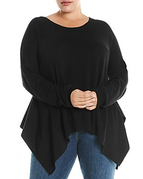Estelle Plus - Handkerchief-Hem Sweater