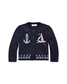 Ralph Lauren - Girls' Nautical Cardigan - Baby