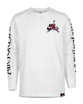 JORDAN - Boys' Nike Air Logo-Sleeve Tee - Big Kid