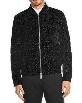 DSQUARED2 - Glitter Velvet Slim Fit Jacket