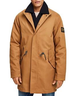 Scotch & Soda - Long Twill Slim Fit Jacket