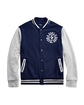 Ralph Lauren - Boys' Naval Baseball Jacket - Big Kid