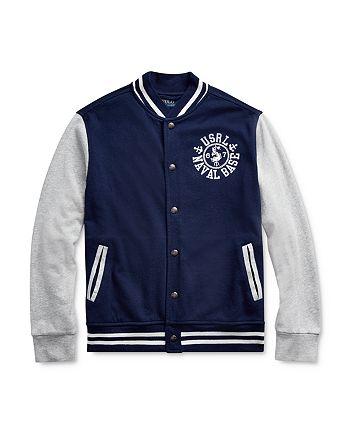 Ralph Lauren - Boys' Naval Baseball Jacket - Big Kid