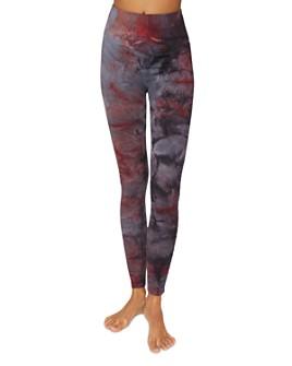 Spiritual Gangster - Galaxy High-Rise Tie-Dye Leggings