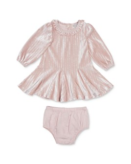 Habitual Kids - Girls' Metallic-Stripe Dress & Bloomers Set - Baby
