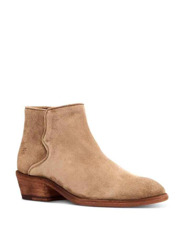 Frye Women's Carson Low-Heel Booties  | Bloomingdale's