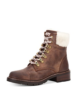 Frye - Women's Samantha Hiker Weatherproof Lace-Up Boots