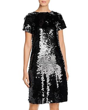 Lafayette 148 Dresses CASSIA PAILLETTE-EMBELLISHED DRESS