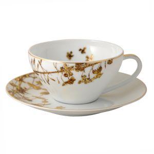 Bernardaud Vegetal Gold Tea Cup