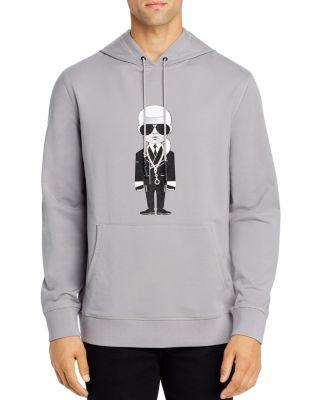 Karl Lagerfeld Paris Womens Crewneck Sweatshirt