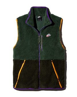 Nike - Color-Block Mixed-Media Vest