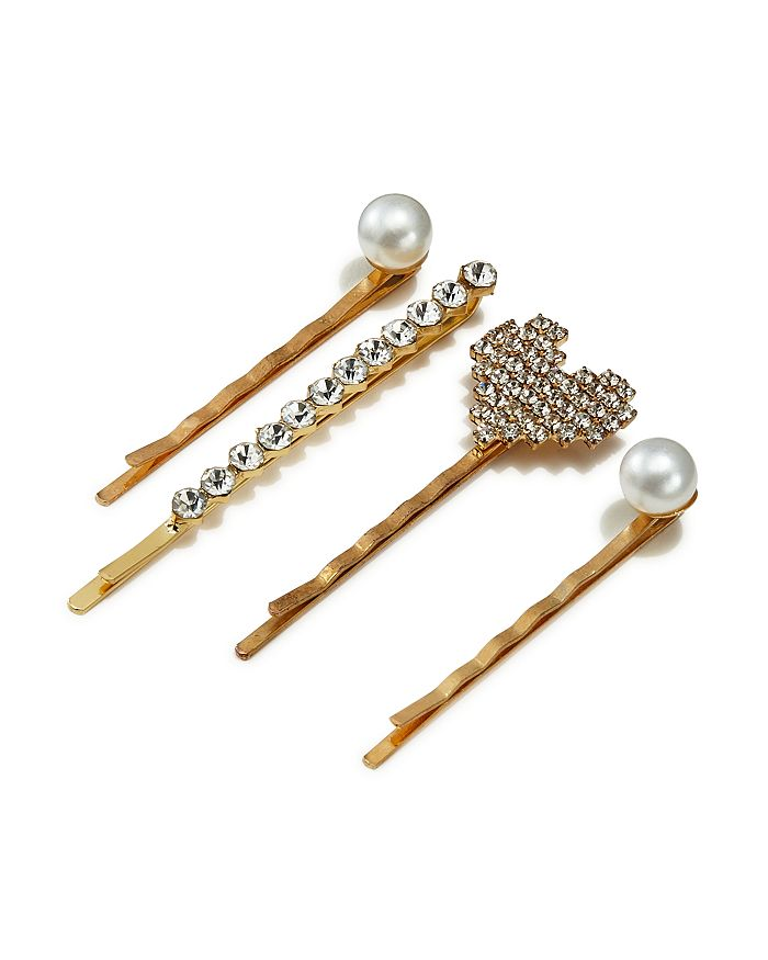 AQUA - Embellished Bobby Pins, Set of 4 - 100% Exclusive