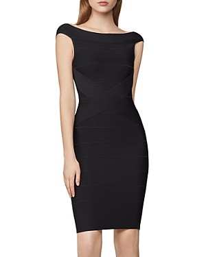 Herve Leger Icon Banded Body-Con Dress