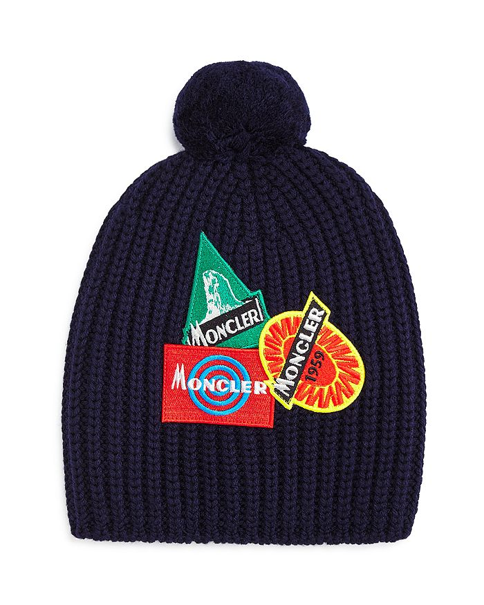 Moncler - Unisex Patches Hat - Big Kid