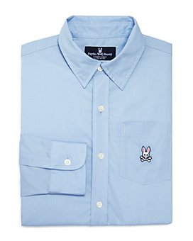 Psycho Bunny - Boys' Solid Dress Shirt - Little Kid, Big Kid