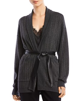 Bailey 44 - Whitney Belted Striped Cardigan