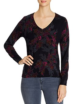 Daniel Rainn - Botanical Button-Back Lightweight Sweater