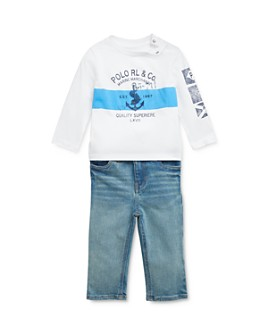 Ralph Lauren - Boys' Nautical Graphic Tee & Jeans Set - Baby