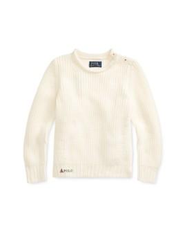 Ralph Lauren - Girls' Roll-Neck Sweater - Little Kid