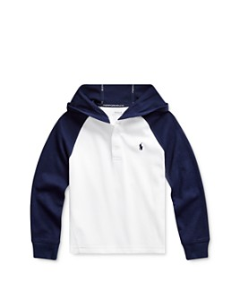 Ralph Lauren - Boys' Hooded Piqué Tee - Little Kid