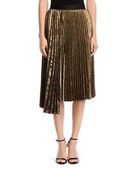 Bailey 44 - Asymmetric Pleated Skirt