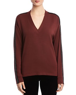 Bailey 44 - Casey Embellished-Sleeve Sweater