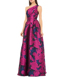 Carmen Marc Valvo Infusion - One-Shoulder Ball Gown